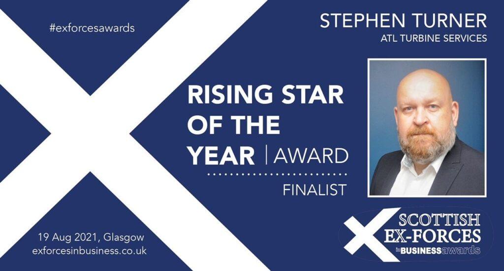 Stephen Turner Ex Forces Award Nominee